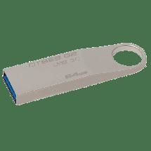 KINGSTON 64GB USB 3.0, DataTraveler SE9 G2 (Silver) - DTSE9G2/64GB  USB 3.0, 64GB, do 100 MB/s, do 15 MB/s