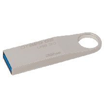 KINGSTON 32GB USB 3.0, DataTraveler SE9 G2 (Silver) - DTSE9G2/32GB  USB 3.0, 32GB, do 100 MB/s, do 15 MB/s