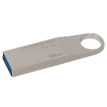 KINGSTON 16GB USB 3.0, DataTraveler SE9 G2 (Srebrni) - DTSE9G2/16GB   USB 3.0, 16GB, do 100 MB/s, Srebrna