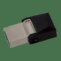 KINGSTON 64GB DataTraveler microDuo 3.0 - DTDUO3/64GB  USB 3.0 / microUSB, 64GB, do 70 MB/s, do 15 MB/s
