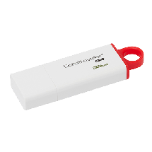 KINGSTON 32GB USB DataTraveler G4 - DTIG4/32GB  USB 3.0, 32GB, Bela/crvena