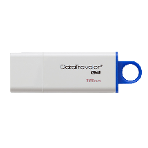 KINGSTON 16GB USB DataTraveler G4 - DTIG4/16GB  USB 3.0, 16GB, Bela/plava