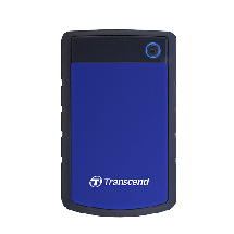 """TRANSCEND 2TB 2.5"""", USB 3.0, StoreJet 25H3, (Black/Blue) - TS2TSJ25H3B  2TB, Crna / plava, 2.5"""", USB 3.0"""