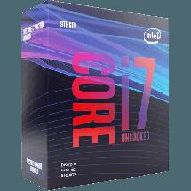 INTEL Core i7-9700KF 3.6GHz (4.9GHz)  Intel® 1151 (8. i 9. gen.), Intel® Core™ i7, 8