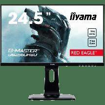 "Monitor IIYAMA monitor Red Eagle G-MASTER GB2560HSU-B1  24.5"", TN, 1920 x 1080 Full HD, 1ms"