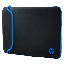 "HP torba za laptop Neoprene Sleeve (Crna/Plava) - V5C27AA  do 14"", Crna/Plava"