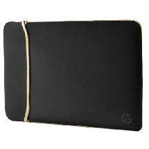 "HP torba za laptop Neoprene Reversible Sleeve (Crna/Zlatna) - 2UF60AA   do 15.6"", Crna/Zlatna"