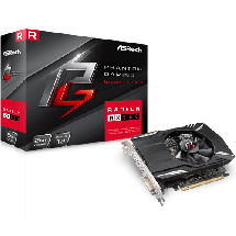 Grafička karta ASRock Phantom Gaming Radeon RX550 2G  AMD Radeon RX 550, 2GB, GDDR5, 128bit