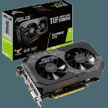 ASUS TUF Gaming GeForce® GTX 1660 Ti OC - TUF-GTX1660TI-O6G  Nvidia GeForce GTX 1660 Ti, 6GB, GDDR6, 192bit