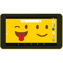 "ESTAR themed tablet EMOJI 7"" (žuti)  7"", Četiri jezgra, 1GB, WiFi"
