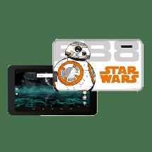 """ESTAR themed tablet STAR WARS BB8 7"""" (beli)  7"""", Četiri jezgra, 1GB, WiFi"""