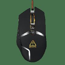 CANYON gejmerski miš TANTIVE (Crni) - CND-SGM4E  Optički, 4800dpi, Dizajniran za desnu ruku, Crna