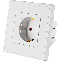 WOOX pametna utičnica (bela) - R4054  Utičnica, Tip E, Daljinska kontrola (bežična)