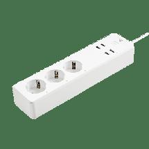 NEDIS Wi-Fi pametni produžni kabl (beli) - WIFIP310FWT  Utičnica, Tip F, Lokalna i daljinska kontrola