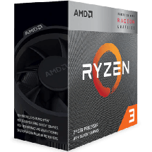 AMD Ryzen 3 3200G 3.6GHz  AMD® AM4, AMD® Ryzen 3, 4