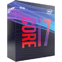 INTEL Core i7-9700 3.0GHz (4.7GHz)  Intel® 1151 (8. i 9. gen.), Intel® Core™ i7, 8