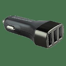 PROMATE Auto punjač 3 USB (crni)  Auto punjač, USB Tip A, 5 V, 3.1A