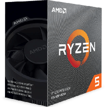 AMD Ryzen 5 3600X 3.8GHz (4.4GHz)  AMD® AM4, AMD® Ryzen 5, 6