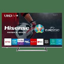 """HISENSE Televizor H50B7500 SMART (Srebrni)  LED, 50"""" (127 cm), 4K Ultra HD, DVB-T/T2/C/S/S2 + POKLON Dres reprezentacije i zastava"""