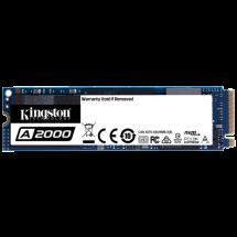 KINGSTON SSD M.2 2280 250GB, PCIe NVMe - SA2000M8/250G  250GB, M.2 2280, PCIe, do 2000 MB/s