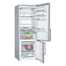 BOSCH Kombinovani frižider KGN56HI3P  No Frost, 193 cm, 400 l, 105 l