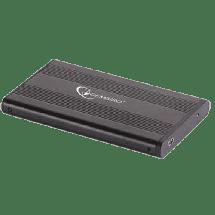 """GEMBIRD Eksterno kućište za 2.5"""" SATA hard disk - EE2-U2S-5  2.5"""", SATA / ATA, USB 2.0, Aluminijum, plastika"""