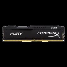 KINGSTON HyperX Fury Black 4GB DDR4 2400MHz CL15 - HX424C15FB3/4  4GB, DDR4, 2400Mhz, CL15