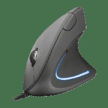 TRUST Žični miš VERTO ERGONOMIC (Crni)  USB, Optički, 1600 DPI