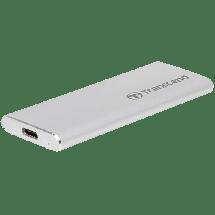 TRANSCEND Eksterni SSD 480 GB USB-C -   480 GB, Srebrna, USB tip C