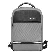 "PROMATE ranac za laptop Explorer-BP - NOT14045  Sa integrisanim USB priključkom, do 13"", Siva"