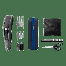 PHILIPS aparat za šišanje HC7650/15  Siva, Baterije i kabl