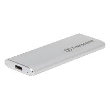 TRANSCEND Eksterni SSD 240GB USB-C - TS240GESD240C  240 GB, Srebrna, USB tip C