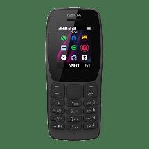 """NOKIA 110 DS Black 16NKLB01A03 (Crna)  1.77"""", 4 MB, 0.75 Mpix, 800 mAh"""