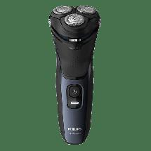 PHILIPS Aparat za brijanje S3134/51  Crna/Plava, Baterije i kabl