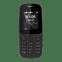 """NOKIA 105 DS Black 16KIGB01A06 (Crna)  1.77"""", 4 MB, 4 MB, 800 mAh"""