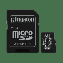 Memorijska kartica KINGSTON Memorijska kartica microSD 16GB Select Plus - SDCS2/16GB -   microSD, 16GB, UHS U1