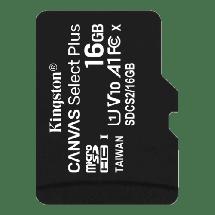 Memorijska kartica KINGSTON Memorijska kartica microSD 16GB - SDCS2/16GBSP -   microSD, 16GB, UHS U1
