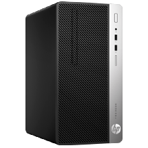Računar HP ProDesk 400 G6 Microtower PC - 7EL67EA  Intel® Core™ i3-9100 3.60 GHz (do 4.20 GHz), 8GB, Intel® UHD Graphics 630, Windows 10 Pro 64bit
