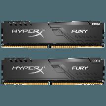 Memorija KINGSTON HyperX FURY 32GB (2 x 16GB) DDR4 3600MHz CL17 - HX436C17FB3K2/32  32GB kit, DDR4, 3600MHz, CL17
