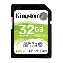 Memorijska kartica KINGSTON Memorijska kartica 32GB SdHC Canvas Select Plus  SD, 32GB, UHS U1