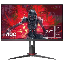 "Monitor AOC Gejming monitor 27 IPS - 27G2U5/BK  27"", IPS, 1920 x 1080 Full HD, 1ms (MPRT - Moving Picture Response Time)"