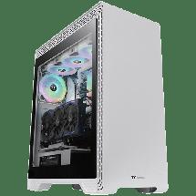 THERMALTAKE Kućište S500 Snow Edition - CA-1O3-00M6WN-00  Midi Tower, Micro-ATX, Mini-ITX, ATX, Bez napajanja, Bela
