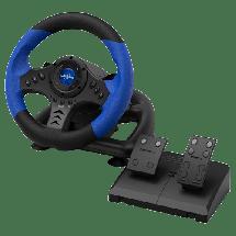 HAMA Gejmerski volan URAGE GRIPZ 500 (Crni/Plavi)  Sekvencijalni menjač, Gas i kočnica, Windows