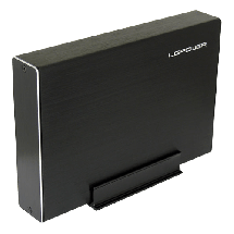 """LC-POWER HDD Rack 3.5"""", USB 3.1 Gen 2, SATA (Black) LC-35U3-Becrux-C1  3.5"""", SATA I / II / III, USB 3.1 Gen2 Tip C, Aluminijum"""
