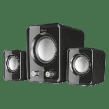 TRUST Zvučnici za računar ZIVA COMPACT 2.1 (Crni)  2.1, 6W, 100Hz-20KHz, 4 Ohm