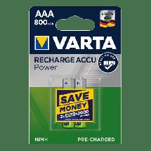 VARTA Punjiva baterija 2 x AAA 800mAh  Punjiva baterija, AAA (LR3), 800 mAh, 2/1