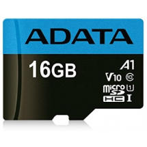UHS-I MicroSDHC 16GB class 10 + adapter AUSDH16GUICL10A1-RA1