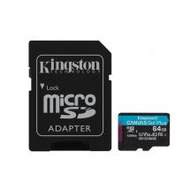 U3 V30 microSDXC 64GB Canvas Go Plus 170R A2 + adapter SDCG3/64GB