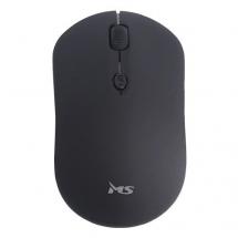 ROUND crni bežični optički miš 1600dpi