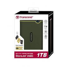 Trancend StoreJgo pro sticket (TS1TSJ25M3G) eksterni hard disk 1TB zeleni